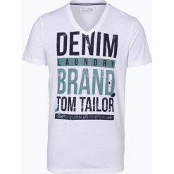 T-shirty męskie: Tom Tailor Denim - T-shirt męski, czarny