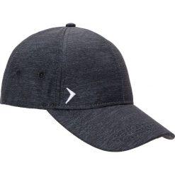 Czapka męska CAM600 - ciemny szary melanż - Outhorn. Szare czapki z daszkiem męskie Outhorn, na lato, melanż, z materiału, sportowe. Za 29,99 zł.