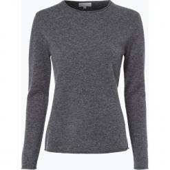 Marie Lund - Sweter damski z czystego kaszmiru, szary. Szare swetry klasyczne damskie Marie Lund, m, z kaszmiru. Za 449,95 zł.