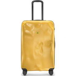 Walizka Icon duża matowa żółta. Żółte walizki marki Crazy sales, z materiału. Za 1120,00 zł.