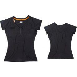 Bluzki asymetryczne: JOBE Koszulka damska Discover Nero czarna r. XL