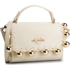 Torebka LOVE MOSCHINO - JC4079PP17LI0110 Avorio. Brązowe torebki klasyczne damskie marki Love Moschino, ze skóry ekologicznej. Za 879,00 zł.