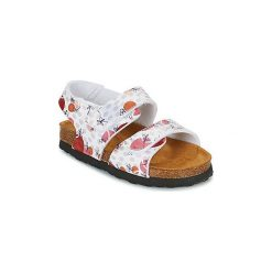 Sandały Dziecko  Kickers  SUMMERKRO. Niebieskie sandały dziewczęce marki Kickers, z kauczuku, na sznurówki. Za 118,30 zł.