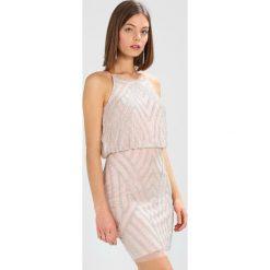 Sukienki hiszpanki: Lace & Beads MINA DRESS Sukienka koktajlowa nude