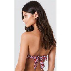 Bikini: J&K Swim X NA-KD Góra bikini z wycięciami - Pink
