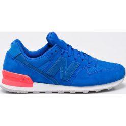 New Balance - Buty WR996SL. Szare buty sportowe damskie New Balance, z materiału. W wyprzedaży za 269,90 zł.