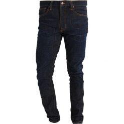 Spodnie męskie: Nudie Jeans LEAN DEAN Jeansy Slim fit crinkle blues