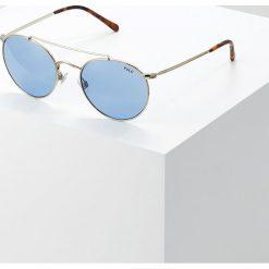 Polo Ralph Lauren Okulary przeciwsłoneczne blue. Niebieskie okulary przeciwsłoneczne męskie wayfarery Polo Ralph Lauren. Za 649,00 zł.