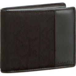 Portfele męskie: Duży Portfel Męski CALVIN KLEIN BLACK LABEL – Power Logo 10Cc+Coin+Pass K50K502130 Black 001