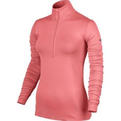 Nike Bluza Damska Pro Warm Long Sleeve Half Zip W Różowa r. L - (803145-655). Czerwone bluzy sportowe damskie Nike, l. Za 159,99 zł.