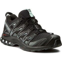 Buty SALOMON - Xa Pro 3D W 393269 22 V0 Black/Magnet/Fair Aqua. Czarne buty do biegania damskie Salomon, z materiału. W wyprzedaży za 349,00 zł.