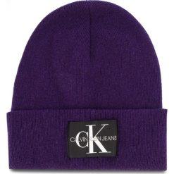 Czapka CALVIN KLEIN JEANS - J Basic Women Knitte K60K604780 507. Fioletowe czapki damskie Calvin Klein Jeans, z jeansu. Za 179,00 zł.