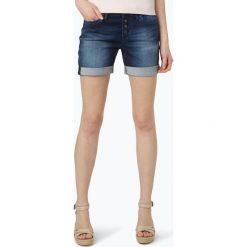 Mavi - Damskie spodenki jeansowe – Camilla, niebieski. Niebieskie bermudy damskie Mavi, z bawełny. Za 249,95 zł.