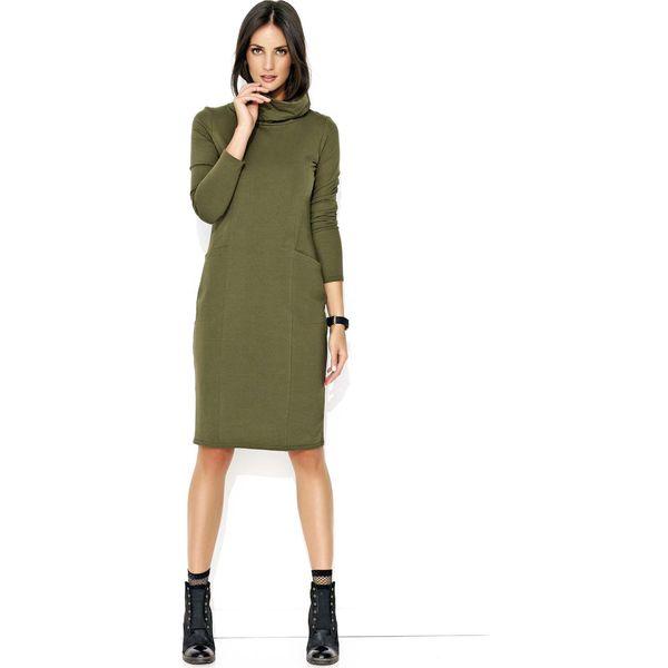 1821e3fcf1 Zielone sukienki damskie koktajlowe - Zniżki do 50%! - Kolekcja wiosna 2019  - myBaze.com