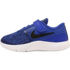 Nike Performance FLEX CONTACT (TDV) Obuwie do biegania treningowe racer blue/black/white. Niebieskie buty do biegania damskie marki Nike Performance, z materiału. Za 169,00 zł.
