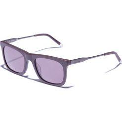 Okulary przeciwsłoneczne męskie aviatory: Okulary męskie w kolorze antracytowo-szarym