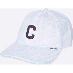 Converse - Czapka. Szare czapki z daszkiem damskie marki Converse, z poliesteru. W wyprzedaży za 69,90 zł.