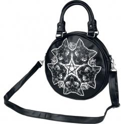 Banned Alternative Esoteric Cat Torebka - Handbag czarny. Czarne torebki klasyczne damskie Banned Alternative, z nadrukiem, z nadrukiem. Za 121,90 zł.