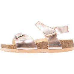 Superfit FUSSBETTPANTOFFEL Sandały bronze. Żółte sandały chłopięce marki Superfit, z materiału. Za 139,00 zł.