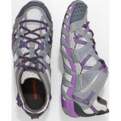 Merrell WATERPRO MAIPO Obuwie hikingowe grey/royal lilac. Szare buty trekkingowe damskie Merrell, z gumy, outdoorowe. Za 419,00 zł.