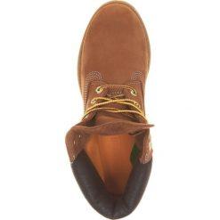 Timberland Botki sznurowane brown. Brązowe botki damskie skórzane marki Timberland, na sznurówki. Za 779,00 zł.