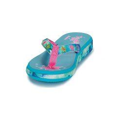 Japonki Dziecko  Skechers  SUNSHINES HIPPIE SKIPPIE. Niebieskie klapki dziewczęce marki Skechers. Za 119,20 zł.
