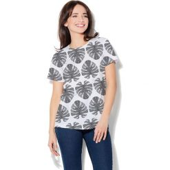 Colour Pleasure Koszulka damska CP-030 273 biało-czarna r. XS/S. T-shirty damskie Colour pleasure, s. Za 70,35 zł.