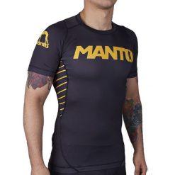 Koszulki sportowe męskie: Manto Koszulka męska Short Sleeve Rashguard Champ r. XL (MNR430)