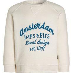 Imps&Elfs ZGREEN BABY LONG SLEEVE Bluza feather white. Białe bluzy dziewczęce marki Imps&Elfs, z bawełny. W wyprzedaży za 126,75 zł.