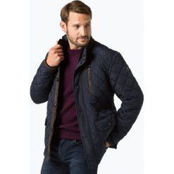 Fynch Hatton - Męska kurtka pikowana, niebieski. Niebieskie kurtki męskie pikowane Fynch-Hatton, m. Za 699,95 zł.