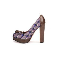 Czółenka Missoni  RASHEL. Fioletowe buty ślubne damskie Missoni. Za 1476,30 zł.