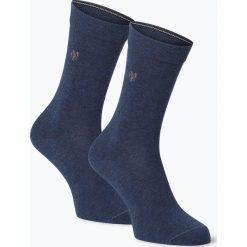 Skarpetki damskie: Marc O'Polo - Skarpety damskie pakowane po 2 szt., niebieski