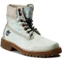 Trapery TIMBERLAND - Ltd Fabric 6 In Lt A1G83  Denim. Niebieskie buty zimowe damskie Timberland, z denimu. W wyprzedaży za 439,00 zł.