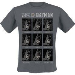 Batman Moods Of Batman T-Shirt szary. Szare t-shirty męskie z nadrukiem marki Batman, xl, z okrągłym kołnierzem. Za 74,90 zł.