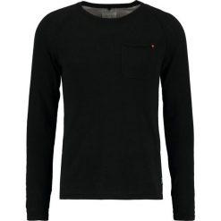 Swetry klasyczne męskie: Blend SLIM FIT Sweter black