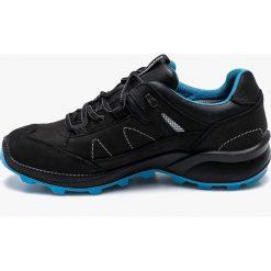 Grisport - Buty. Czarne buty trekkingowe męskie Grisport, na zimę, z materiału, na sznurówki, outdoorowe. W wyprzedaży za 349,90 zł.