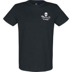 Sea Shepherd Jolly Roger T-Shirt czarny. Czarne t-shirty męskie z nadrukiem Sea Shepherd, s, z bawełny. Za 99,90 zł.