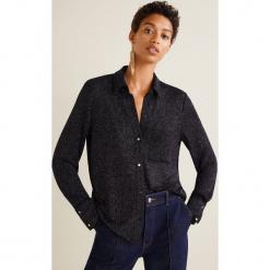 Mango - Bluzka. Szare bluzki z odkrytymi ramionami Mango, l, z elastanu, casualowe. Za 139,90 zł.