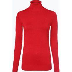 Marie Lund - Sweter damski, czerwony. Czerwone golfy damskie Marie Lund, l, z dzianiny. Za 129,95 zł.
