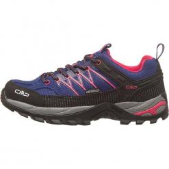 """Buty turystyczne """"Rigel"""" w kolorze granatowo-czarnym. Szare buty trekkingowe damskie marki Marco Tozzi. W wyprzedaży za 218,95 zł."""