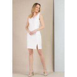 Odzież damska: Sukienka z żakardowym wzorem