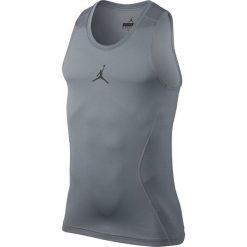 Nike Koszulka męska Jordan 23 Alpha Dry Compression Tank szara r. L (642349-091). Białe koszulki sportowe męskie marki Adidas, l, z jersey, do piłki nożnej. Za 179,90 zł.