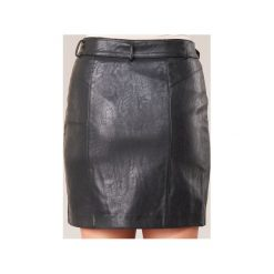 Spódnice krótkie Pepe jeans  JINAI. Czarne minispódniczki marki Pepe Jeans, xl, z jeansu. Za 263,20 zł.