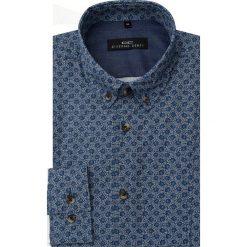 Koszula MICHELE 2 16-08-07-K. Niebieskie koszule męskie na spinki Giacomo Conti, m, z bawełny, button down. Za 259,00 zł.