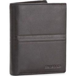 Duży Portfel Męski SAMSONITE - 001-015A0-0282-01 Black. Czarne portfele męskie marki Samsonite, ze skóry. W wyprzedaży za 159,00 zł.