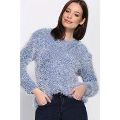Ciemnoniebieski Sweter Subsistence. Niebieskie swetry klasyczne damskie Born2be, na jesień, xl. Za 49,99 zł.