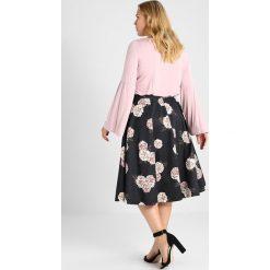 Spódniczki plisowane damskie: City Chic SKIRT ANTIQUE ROSE Spódnica trapezowa rosa