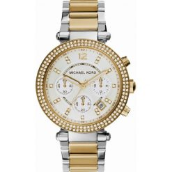 ZEGAREK MICHAEL KORS PARKER MK5626. Białe zegarki damskie Michael Kors, ze stali. Za 1390,00 zł.