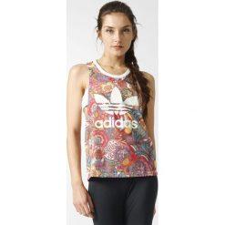 Adidas Originals Koszulka damska Fugiprabali Tank Multikolor r. 32 (BJ8404). Szare topy sportowe damskie marki adidas Originals, na co dzień, z nadrukiem, z bawełny, casualowe, z okrągłym kołnierzem, proste. Za 137,45 zł.