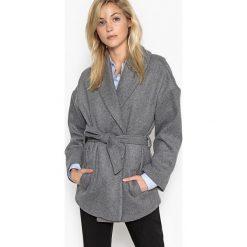 Płaszcze damskie: Płaszcz szlafrok50% laine